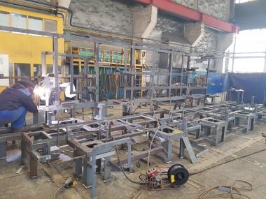 Global Naval Production - Atelier de préfabrication chaudronnerie / serrurerie / soudure